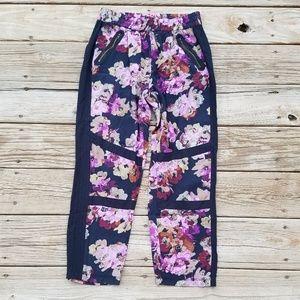《3b》Anthropologie • Lilka Floral Jogger Pants